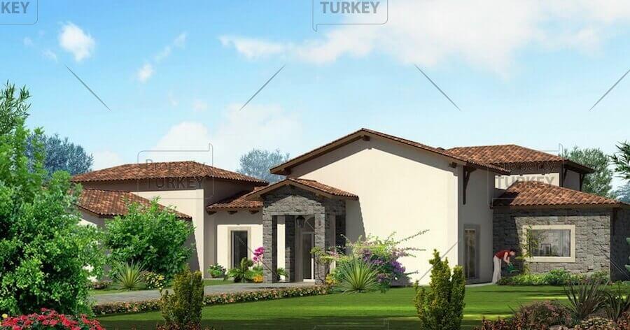 Tuscan style villas