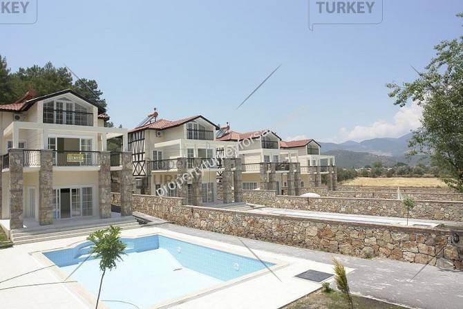 Uzumlu properties with pool