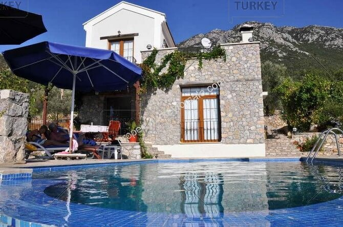 Peaceful And Private Villa Located In Uzumlu Fethiye