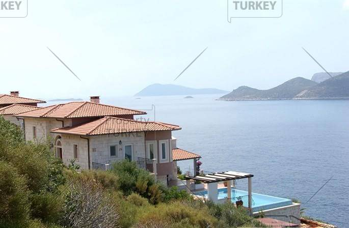 Home in Kas at the seafront