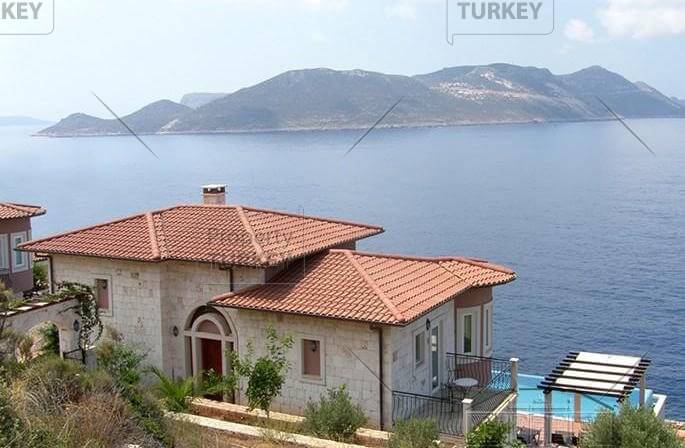 Waterfront property in Kas