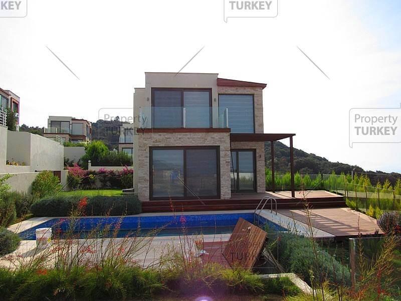 impressive modern architecture bodrum villa property turkey. Black Bedroom Furniture Sets. Home Design Ideas