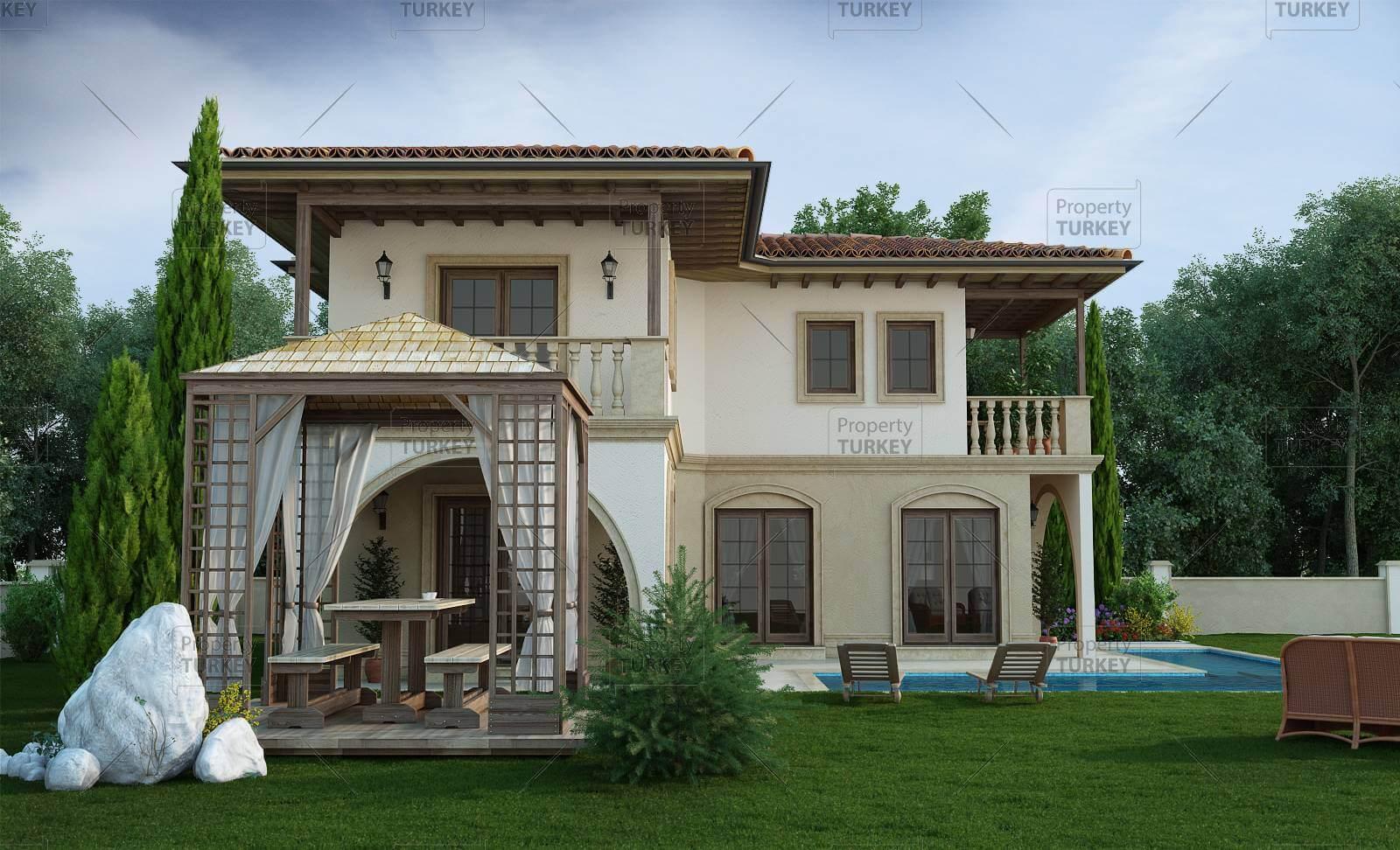 Dalyan villa Mediterranean style