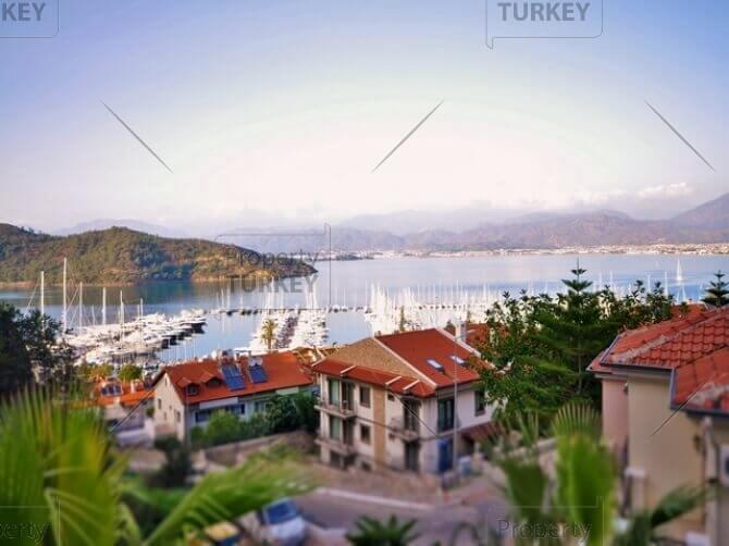 Fethiye marina view