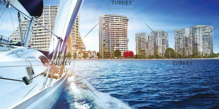 Istanbul waterfront apartment for sale