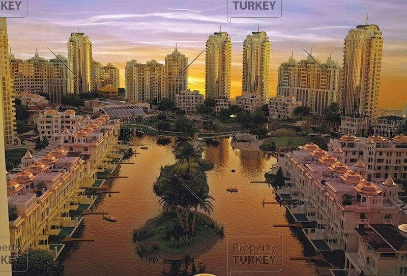 Complex of apartments in Bursa