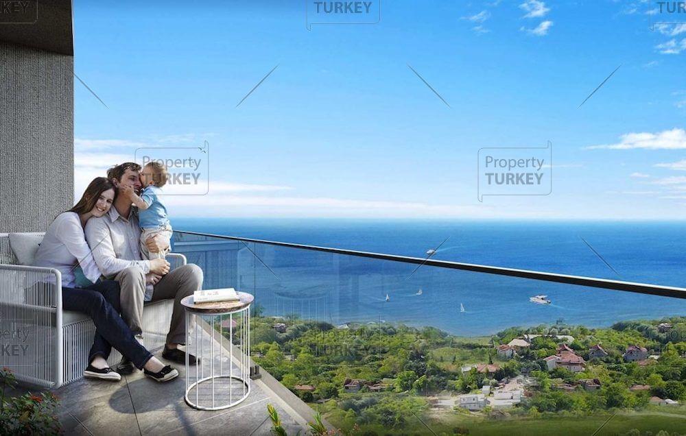 Beylikduzu modern apartments with sea views for sale