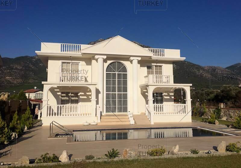 Stunning White House villa in Uzumlu forest settings