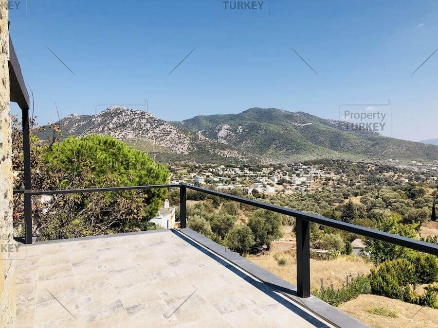 Ortakent residence with nature views for sale