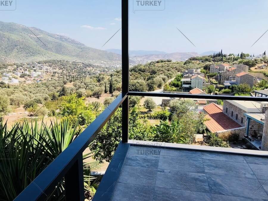 Villa with balcony