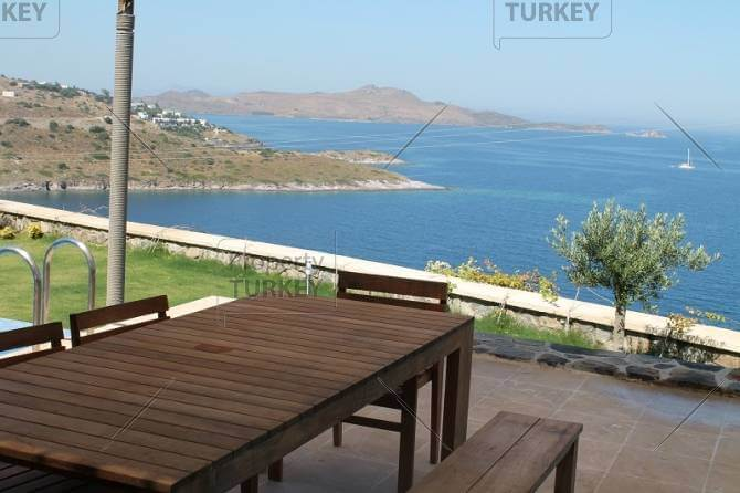 Sea view over Yalikavak in Bodrum