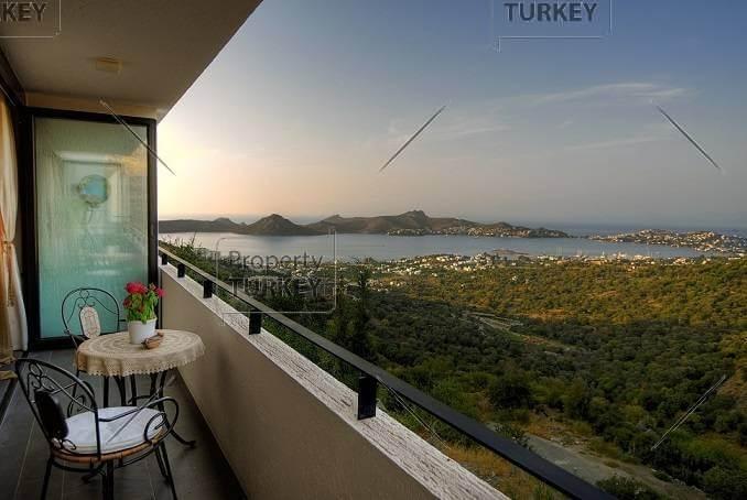 Yalikavak modern apartment for sale