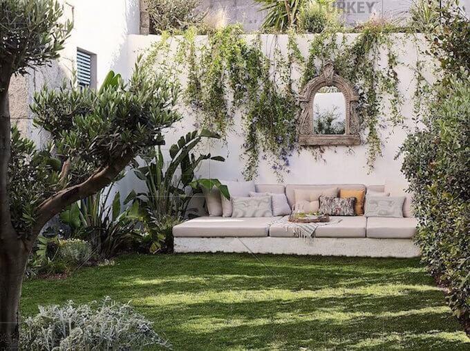 Garden relaxing areas