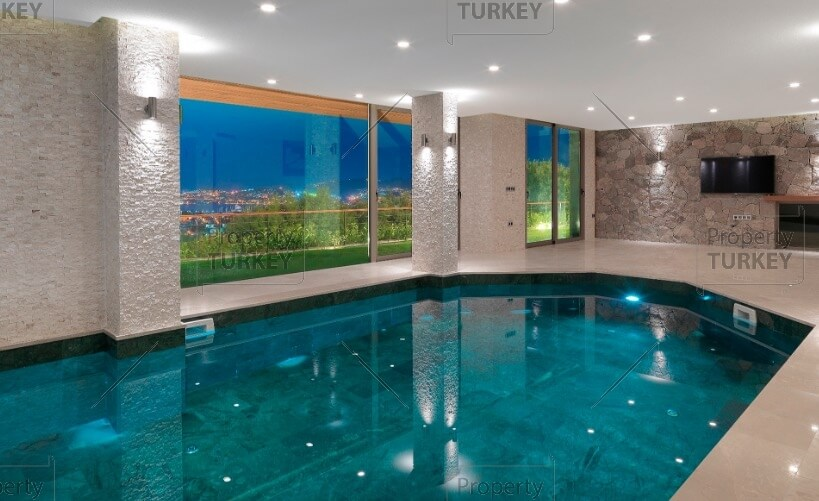 Mansions indoor pool
