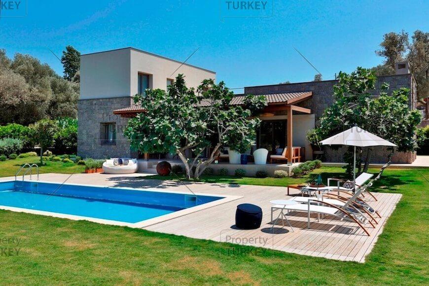 Yalikavak stone villa for sale