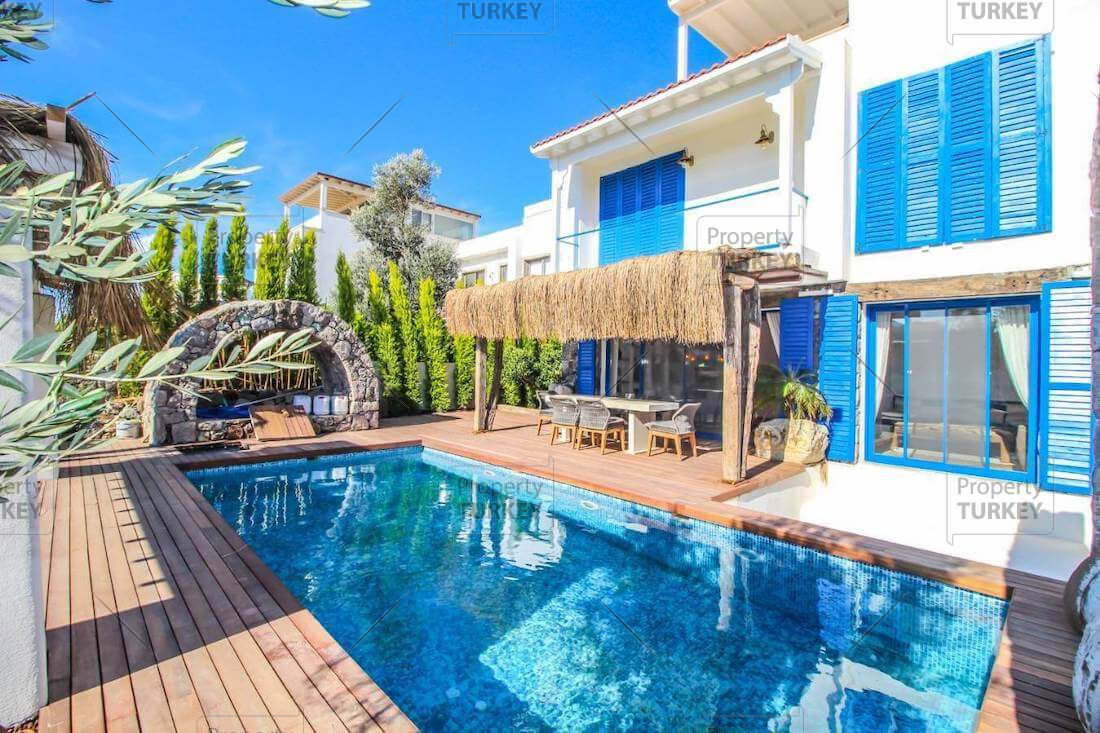 Luxury villa with private pool for sale in Yalikavak