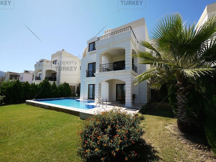 Yalikavak villa with sea view for sale