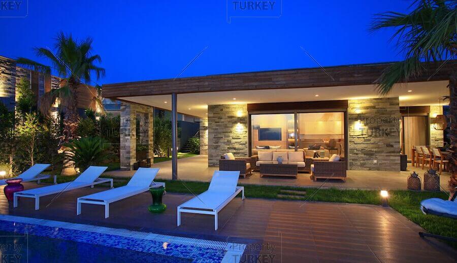 External relaxing areas
