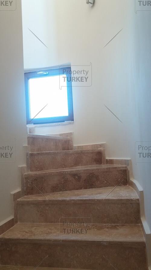 Villas stairs