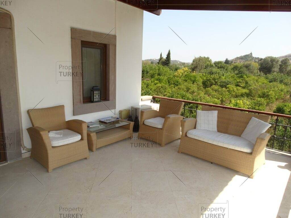 Impressive terrace