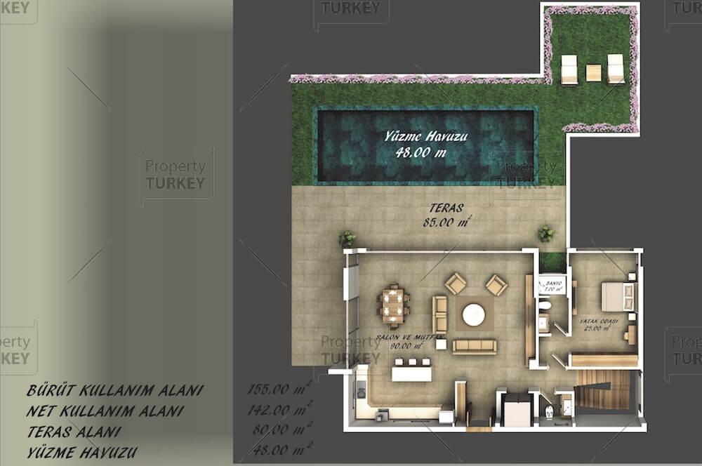 Lower floor site plans