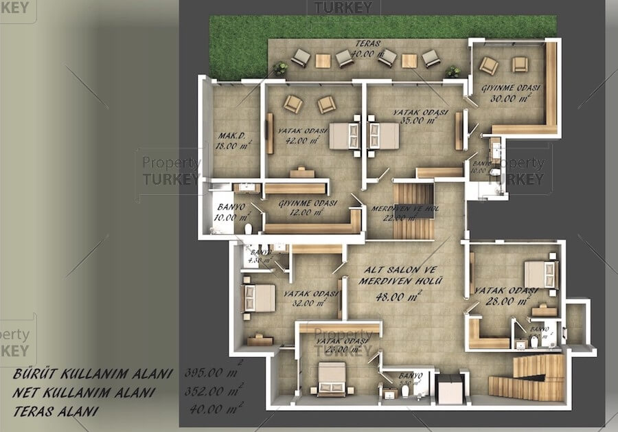 First floor site plans