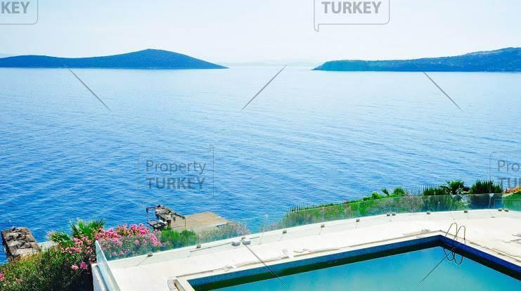 Beachfront villa in Gundogan Bodrum priced to sell