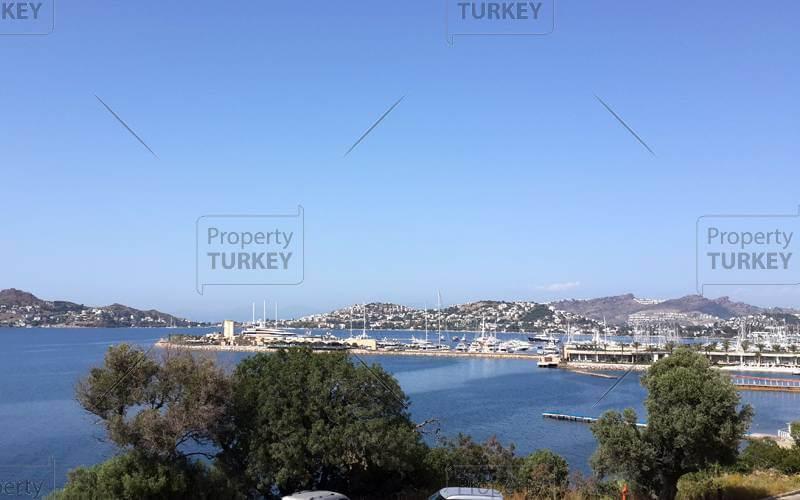 View over sea in Yalikavak