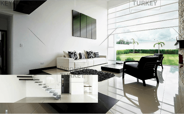 Modern spacious front room