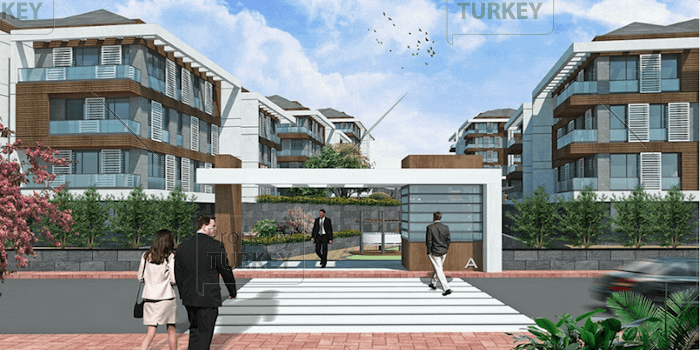 Entrance to project