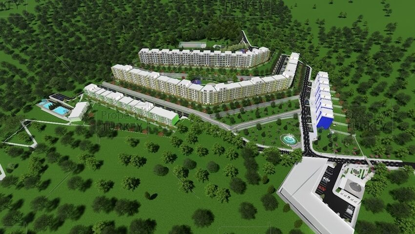 Complex of apartments in Yalova