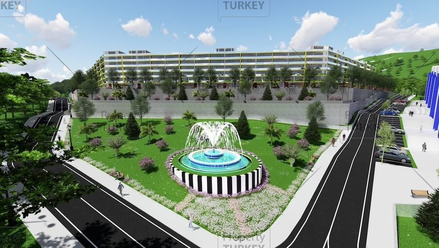 Panoramic sea view apartments for sale in Yalova