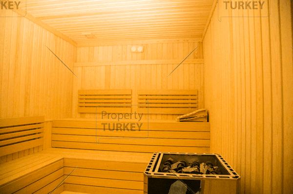 Complex with sauna