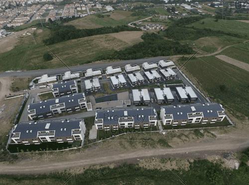 Complete aerial views