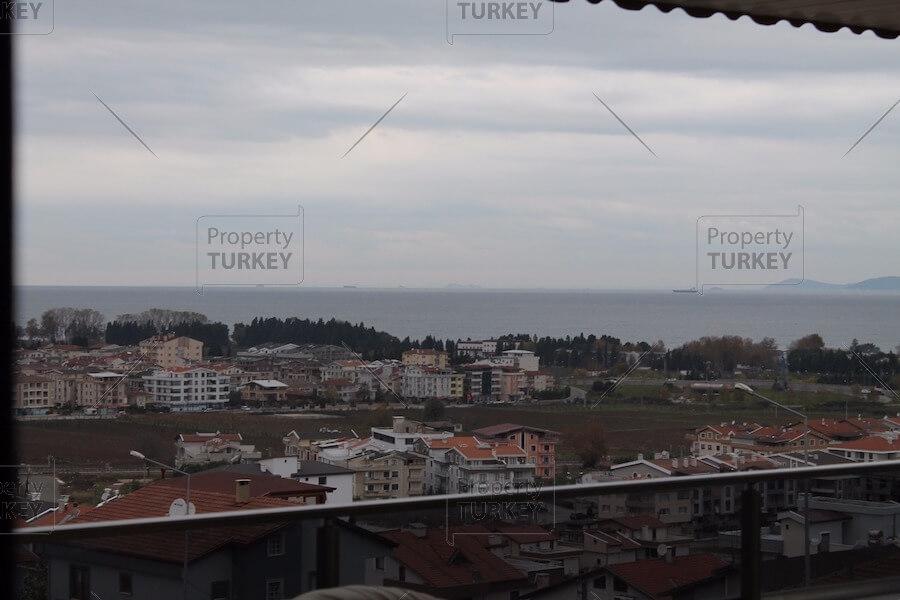 Villas sea views