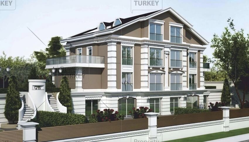 Zekeriyakoy apartments for sale with forest views