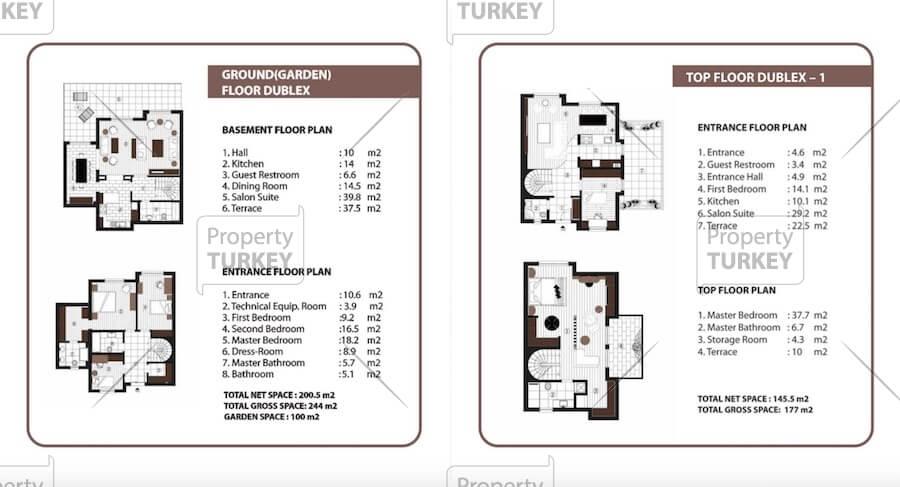 Apartments site plans