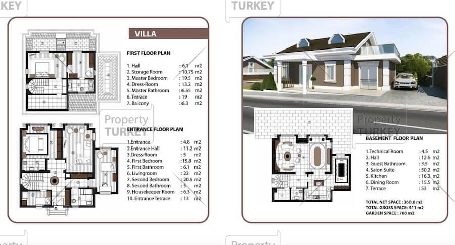 Residences site plans