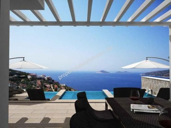 Modern Kalkan Villa Complete With Infinity Pool And Luxury