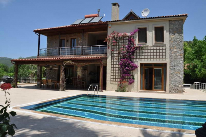 Country House Style Home In Kayakoy Fethiye Property Turkey