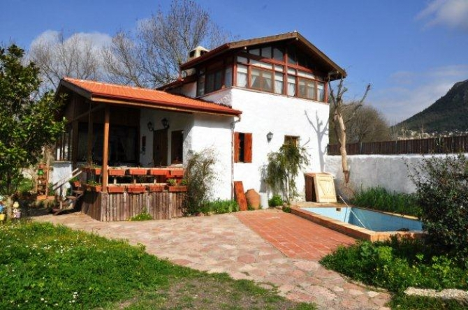 Three Houses In Kayakoy Village For Sale With Potential