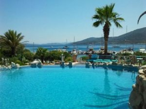 Waterfront villa for sale in Torba Bodrum
