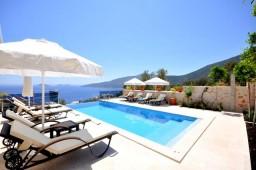Infinity pool deck in Turkey Kalkan