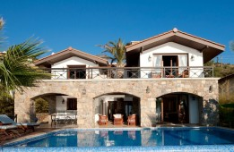 Kalkan Home with beach access frontline to sea