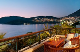 Lovely terrace looking out to Kalkan centre