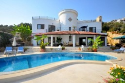Kalkan very private villa with pool