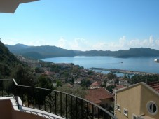 Sea views in Kas