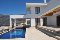 Infinity pool over Turkey's best Kas views