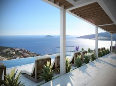 Kalkan sea view from luxury home