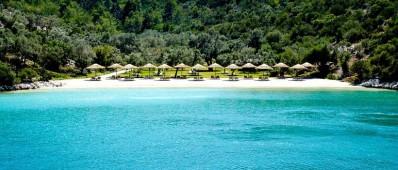 Beautiful beach Paradise Bay Bodrum